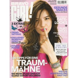 Bravo Girl Nr.14 / 15.7.2015 - Traum-Mähne