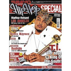 BRAVO Hip Hop Nr.3 / 7 Juli 2006 - T.I. King of the South!