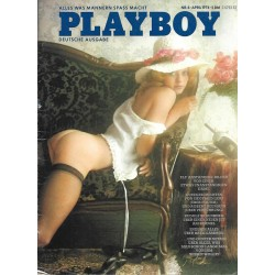 Playboy Nr.4 / April 1974 - Carron Sliger