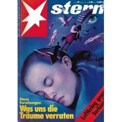 stern Heft Nr.34 / 13 August 1992 - Was Träume verraten