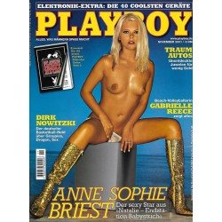 Playboy Nr.11 / November 2001 - Anne Sophie Briest