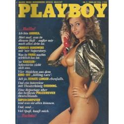 Playboy Nr.2 / Februar 1986 - Playmate Andrea Wetzel