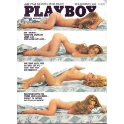 Playboy Nr.10 / Oktober 1974 - Suzann Sherry