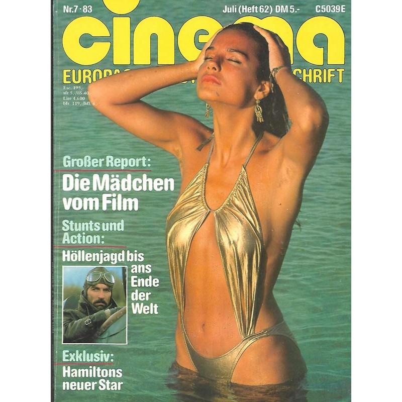 CINEMA 7/83 Juli 1983 - Die Mädchen vom Film