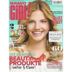 Bravo Girl Nr.10 / 10.8.2016 - Die 50 besten Beauty Produkte