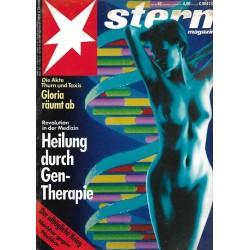 stern Heft Nr.42 / 10 Oktober 1991 - Heilung durch Gentherapie