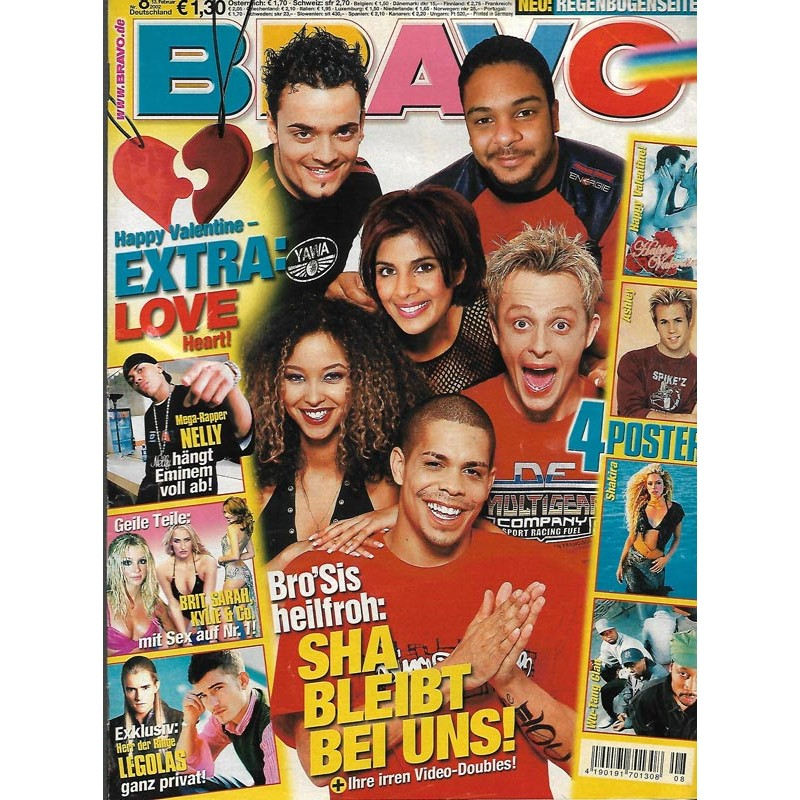 BRAVO Nr.8 / 13 Februar 2002 - Brosis heilfroh