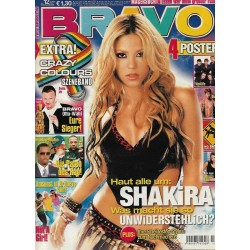 BRAVO Nr.12 / 13 März 2002 - Haut alle um: Shakira