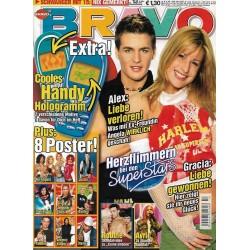 BRAVO Nr.13 / 19 März 2003 - Herzflimmern bei den Stars