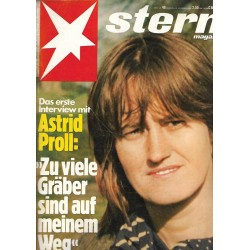stern Heft Nr.48 / 23 November 1978 - Astrid Proll