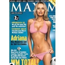 MAXIM Juni 2002 - Adriana Karembeu