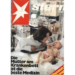 stern Heft Nr.7 / 9 Februar 1978 - Mutter & Krankenbett