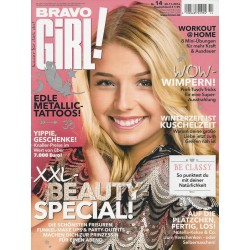 Bravo Girl Nr.14 / 30.11.2016 - XXL-Beauty-Special!