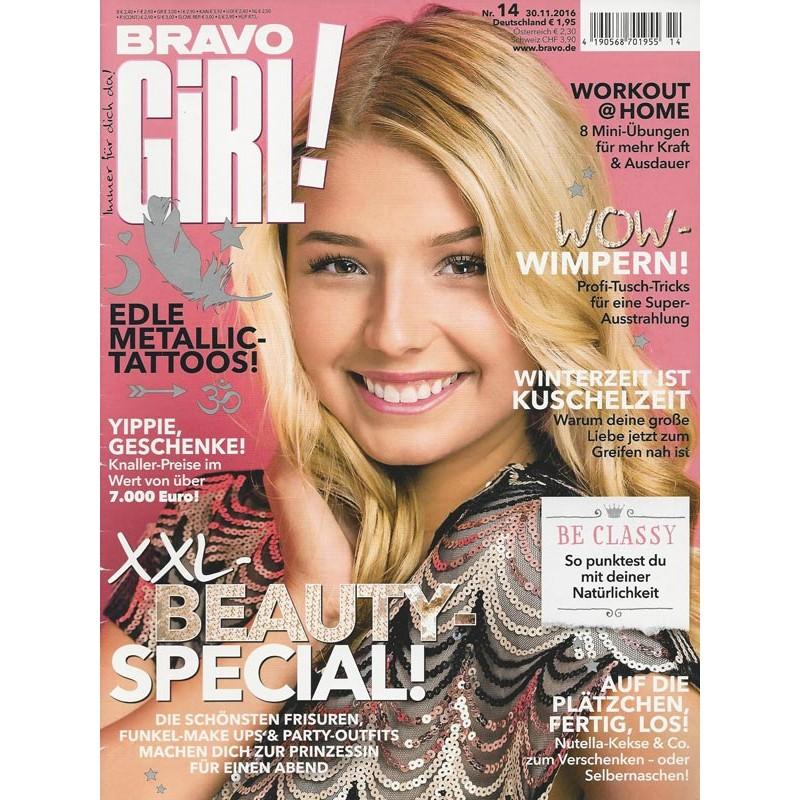 Bravo Girl Nr.14 / 30.11.2016 - XXL-Beauty-Special!