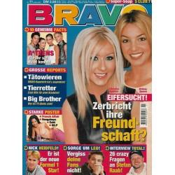BRAVO Nr.11 / 8 März 2000 - Christina & Britney Eifersucht!