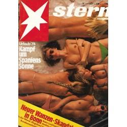 stern Heft Nr.14 / 30 März 1978 - Urlaub 78