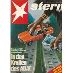 stern Heft Nr.37 / 1 September 1977 - In den Krallen des ADAC