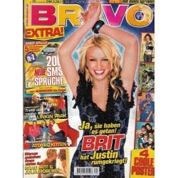 BRAVO Nr.35 / 22 August 2001 - Brit und Justin