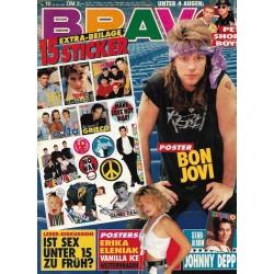 BRAVO Nr.10 / 28 Februar 1991 - Bon Jovi