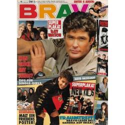 BRAVO Nr.9 / 21 Februar 1991 - David Hasselhoff