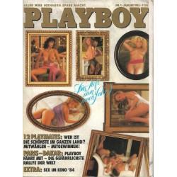 Playboy Nr.1 / Januar 1985 - Das Heft zum neuen Jahr