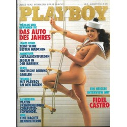 Playboy Nr.8 - August 1985 - Michaela Probst