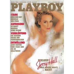 Playboy Nr.10 - Oktober 1985 - Jerry Hall