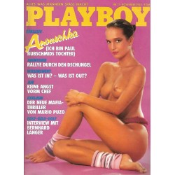 Playboy Nr.11 - November 1985 - Anouschka Renzi
