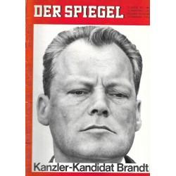 Der Spiegel Nr.33 / 11 August 1965 - Kanzler Kandidat Brandt