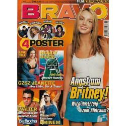 BRAVO Nr.46 / 8 November 2000 - Angst um Britney!