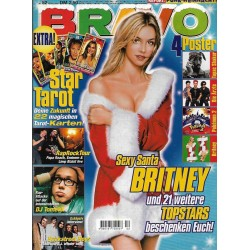 BRAVO Nr.52 / 19 Dezember 2000 - Sexy Santa Britney