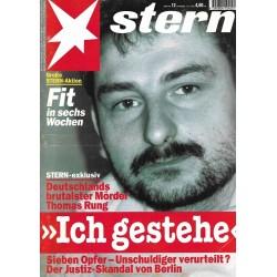 stern Heft Nr.12 / 16 März 1995 - Thomas Rung