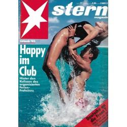 stern Heft Nr.17 / 22 April 1993 - Happy im Club
