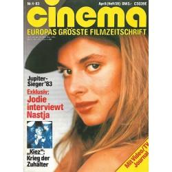 CINEMA 4/84 April 1984 - Jodie interviewt Nastja