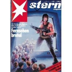 stern Heft Nr.2 / 7 Januar 1993 - Fernsehen brutal