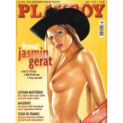 Playboy Nr.7 / Juli 1998 - Jasmin Gerat