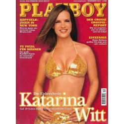 Playboy Nr.12 / Dezember 2001 - Katarina Witt