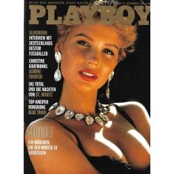 Playboy Nr.12 / Dezember 1988 - Muriel Dubois