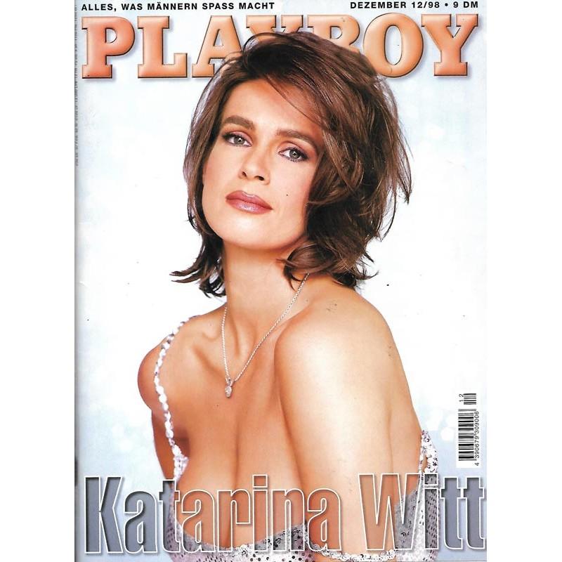 Playboy Nr.12 / Dezember 1998 - Katarina Witt