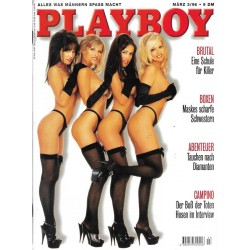 Playboy Nr.3 / März 1996 - Lingerie Girls