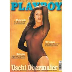 Playboy Nr.9 / September 1996 - Uschi Obermaier