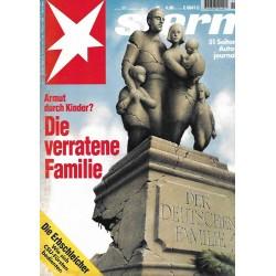 stern Heft Nr.11 / 10 März 1994 - Armut durch Kinder?