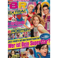 BRAVO Nr.8 / 12 Februar 2003 - Wer ist dein Superstar?