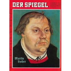 Der Spiegel Nr.45 / 30 Oktober 1967 - Martin Luther