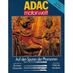ADAC Motorwelt Heft.10 / Okt 1992 - Die Spuren der Pharaonen