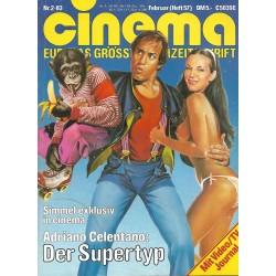 CINEMA 2/83 Februar 1983 - Adriano Celentano