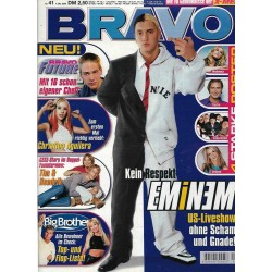 BRAVO Nr.41 / 4 Oktober 2000 - Kein Respekt Eminem
