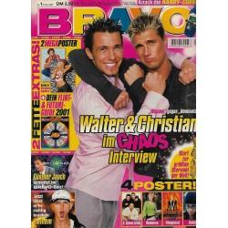 BRAVO Nr.1 / 27 Dezember 2000 - Walter & Christian