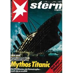 stern Heft Nr.32 / 31 Juli 1986 - Mythos Titanic
