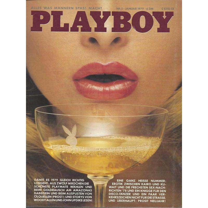 Playboy Nr.1 / Januar 1979 - Playmate Monique Saint-Pierre